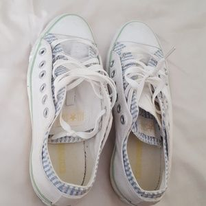 Women's converse good used condition. Sz 8